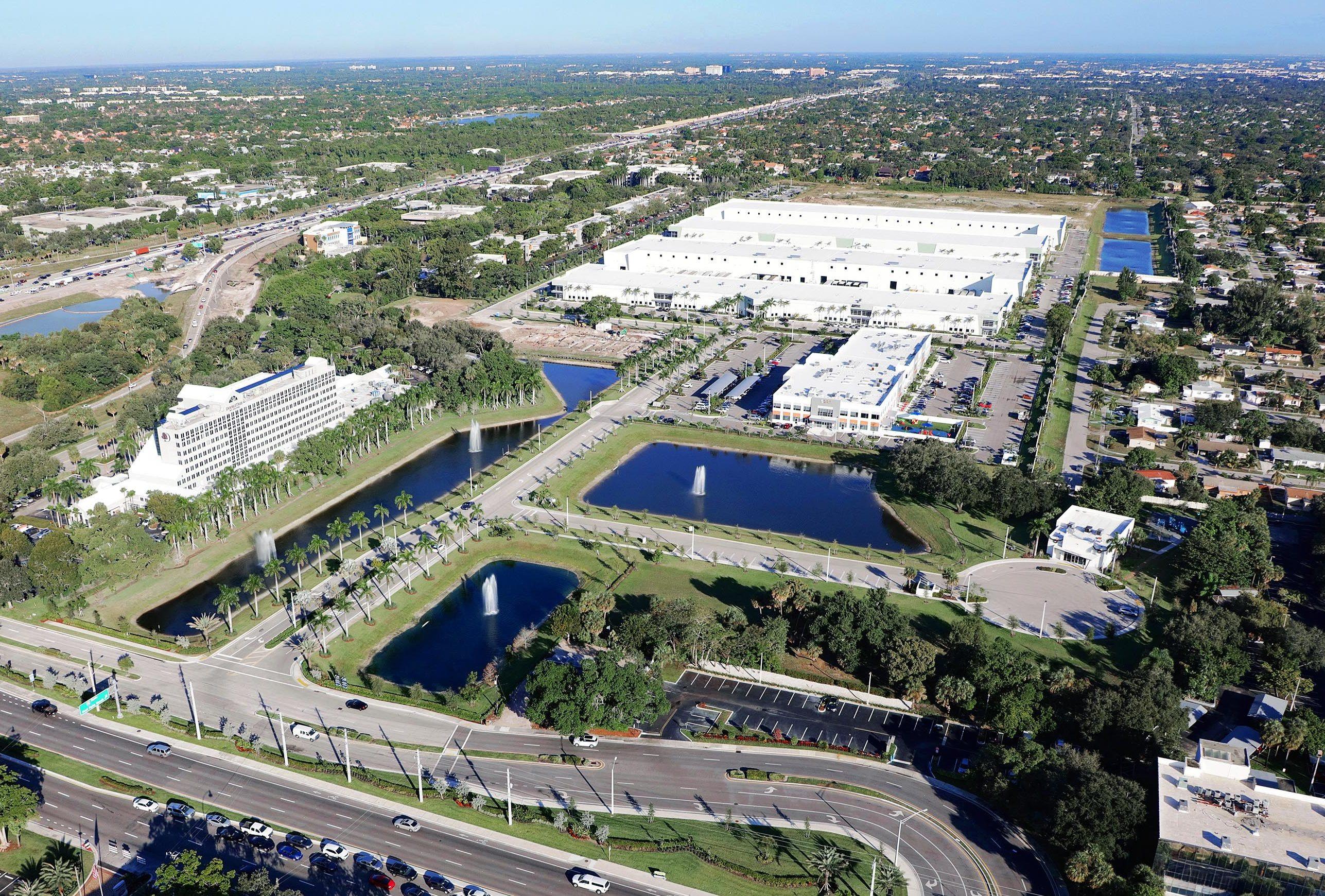Hillsboro Center - Aerial